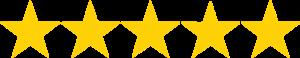 Immagine cinque stelle recensione