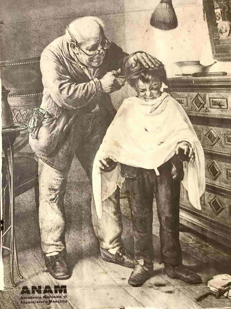 Immagine vintage di ANAM accademia nazionale di acconciatura maschile